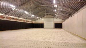 Löslager med ventilerat golv
