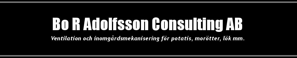 Bo R Adolfsson Consulting AB Logo